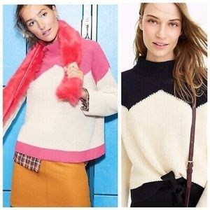 J CREW x The Reeds Chunky Ski Knit Sweater Top